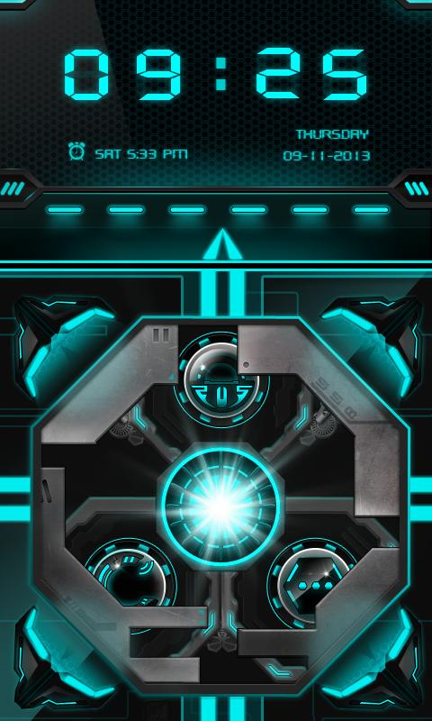 Laser GO Locker Theme - screenshot