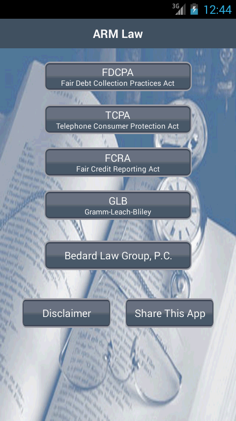 ARM Law- screenshot