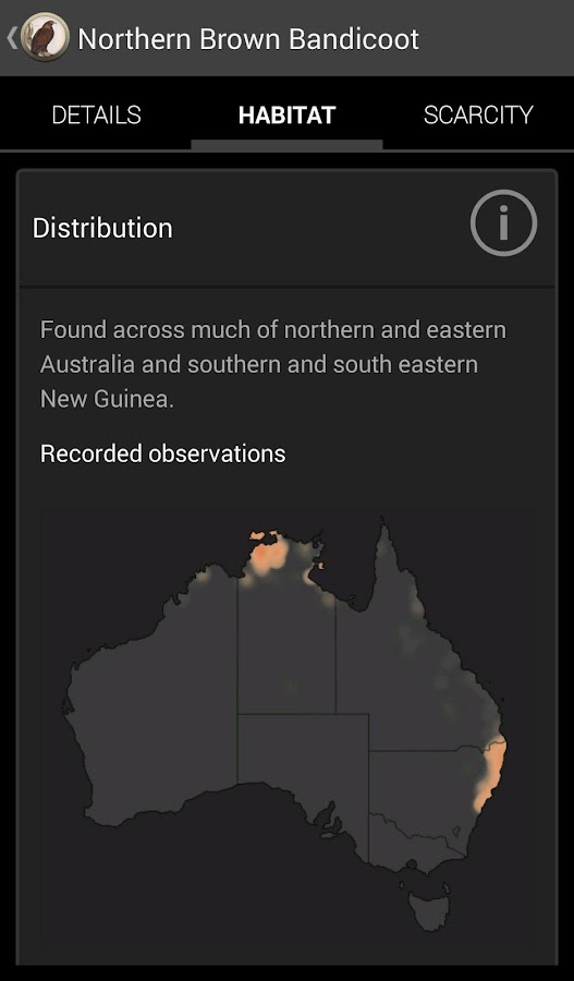 Field Guide Northern Territory- screenshot