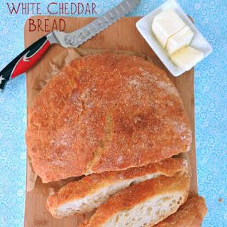 No-Knead Overnight White Cheddar Bread.