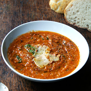 Roasted Tomato and Bread Soup