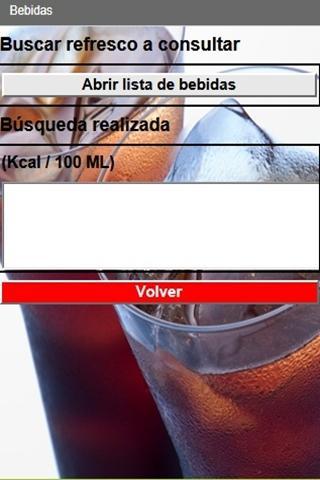Guía de calorías de alimentos- screenshot