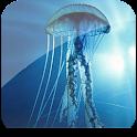 3D Jellyfish HD Pro Live Wallp logo