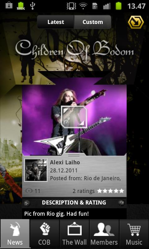 Children Of Bodom - screenshot