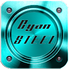Cyan Steel Multi Theme icon