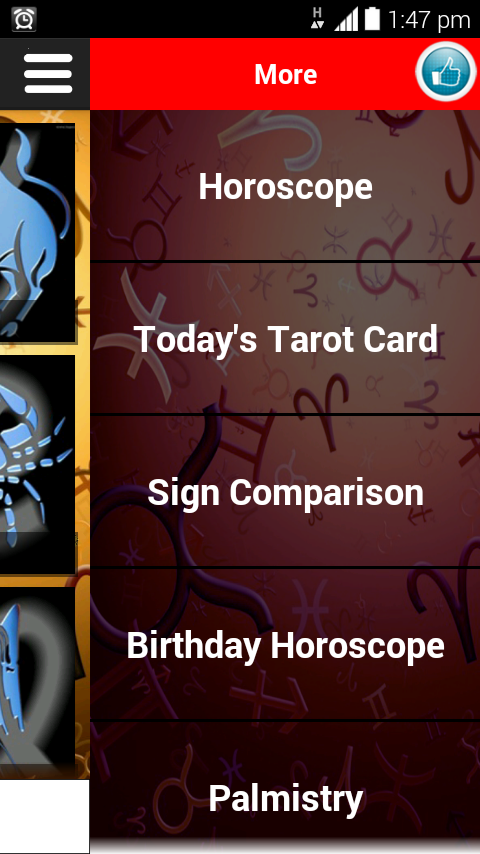 Zodiac Signs & Tarot - screenshot