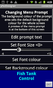 pfodDesigner for pfodApp- screenshot thumbnail