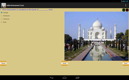 India Monument Quiz - screenshot thumbnail