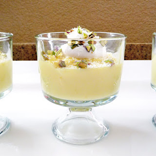 White Chocolate Pudding.