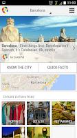Screenshot of Barcelona City Guide