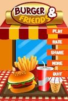 Screenshot of Burger and Friends