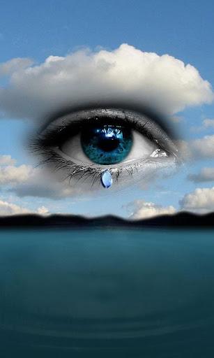 3D Eye Drop Ripple