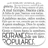 Refranes, Frases Celebres