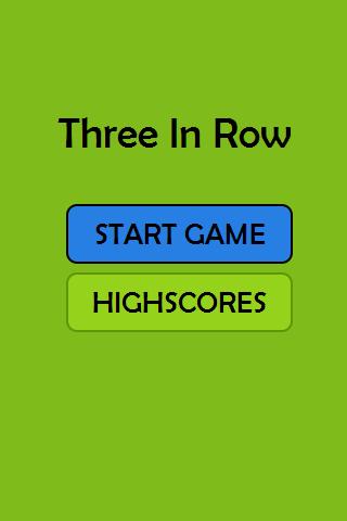 Three In Row