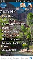 Screenshot of Zion National Park