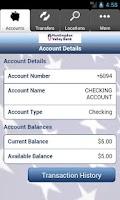 Screenshot of Huntingdon Valley Bank