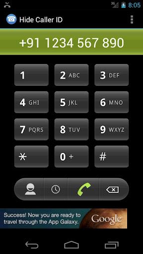 打电话时无需显示您的电话号码