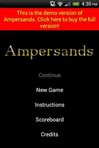 Ampersands Demo