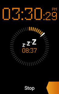 Bedside Alarm Clock Free - screenshot thumbnail