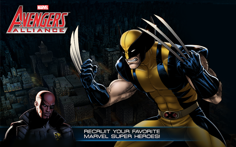 Screenshots for Avengers Alliance for Android