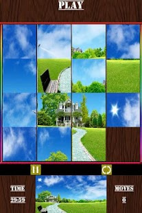 Sliding Picture Puzzle Game - screenshot thumbnail