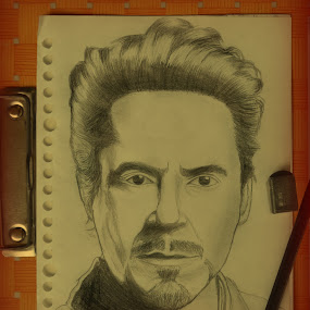 Robert Downey Jr by Taufik Nur Hidayat - Drawing All Drawing