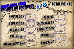 Screenshot of Bible Memory Challenge