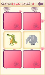 Animals memory game for kids - screenshot thumbnail