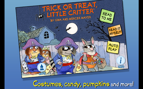 Trick or Treat -Little Critter - náhled