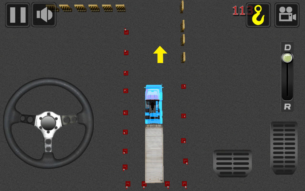 Real Truck Parking 3D- screenshot