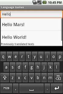 Language Games- screenshot thumbnail