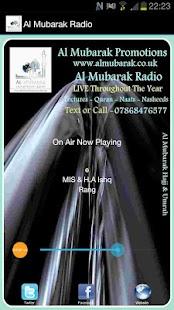 Al Mubarak Radio- screenshot thumbnail
