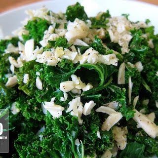 Almond Lime Kale Salad.