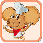 Mouse Food Cooking icon