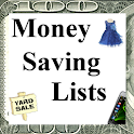 Money Saving Lists icon