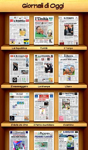 Giornali Oggi - Quotidiani IT