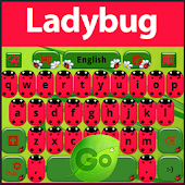 GO Keyboard Ladybug