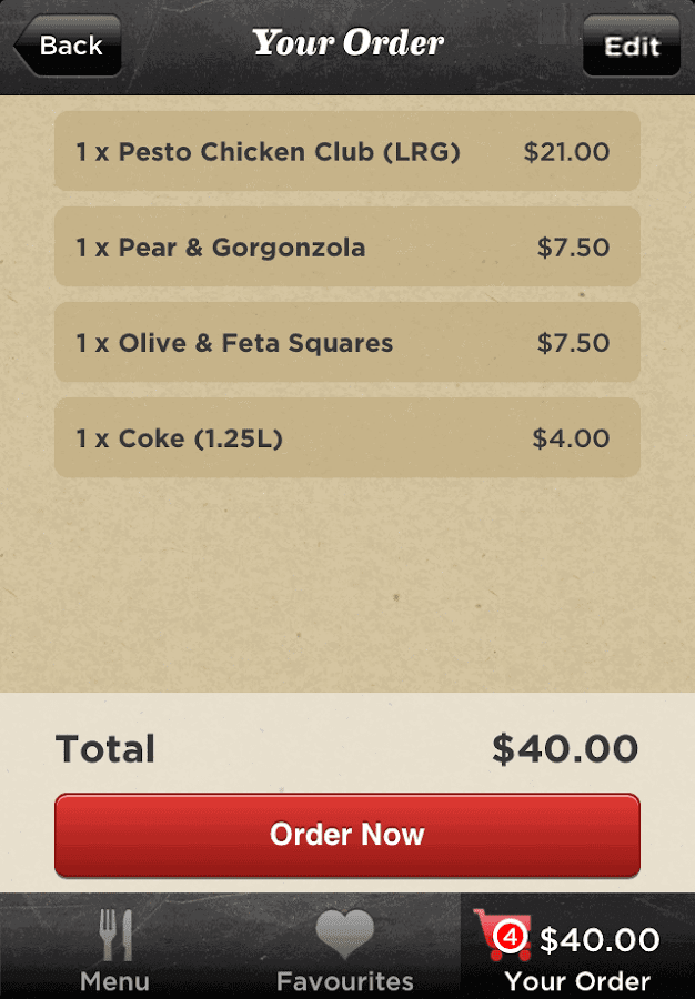 Crust Gourmet Pizza Bar- screenshot