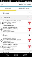 Screenshot of Cadê o Ônibus? (São Paulo)
