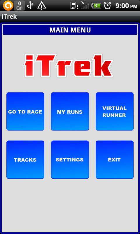 iTrek Lite - screenshot