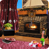 Romantic Fireplace LWP Full
