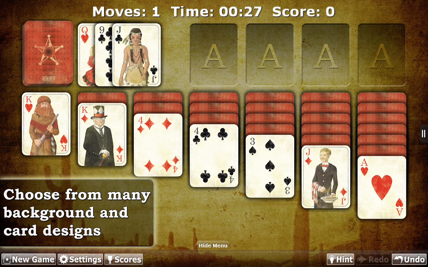 Solitaire Double-Deck HD - screenshot