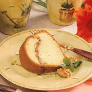 Walnut-Rippled Coffee Cake.