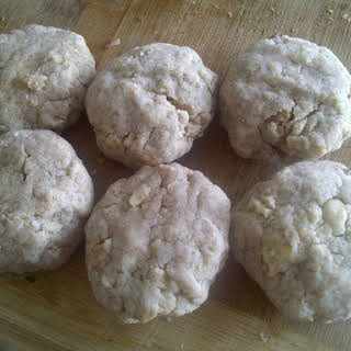 Maple Walnut Cookies (vegan).