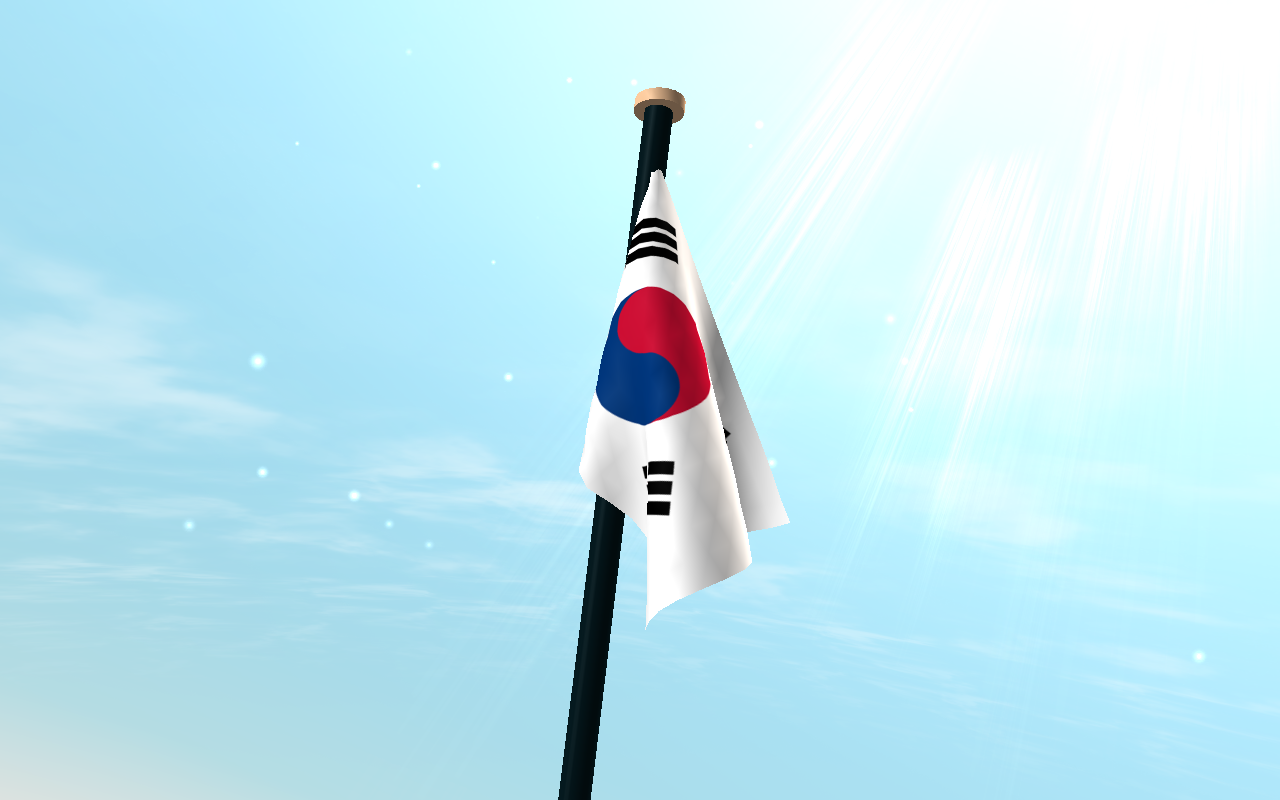 s dkorea flagge 3d kostenlos android apps auf google play. Black Bedroom Furniture Sets. Home Design Ideas