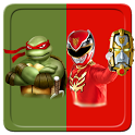 Puzzles Game Rangers & Turtles icon