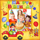 Marcos de fotos de Cumpleaños icon
