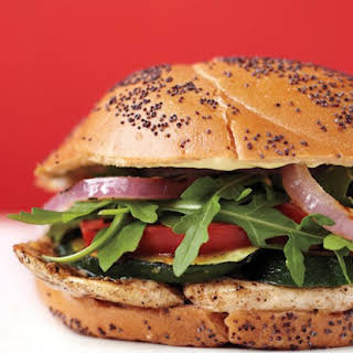 Chicken-Cutlet Burgers.