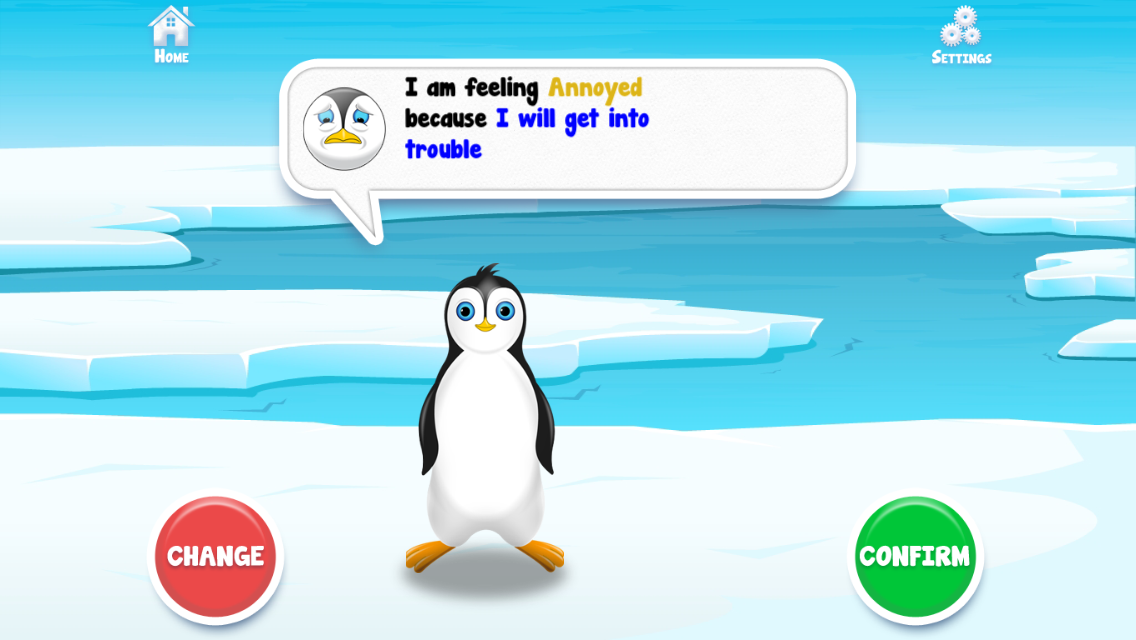 Positive Penguins- screenshot
