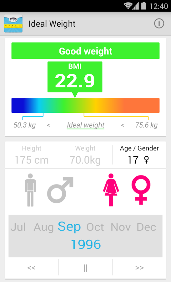 body fat percentage check
